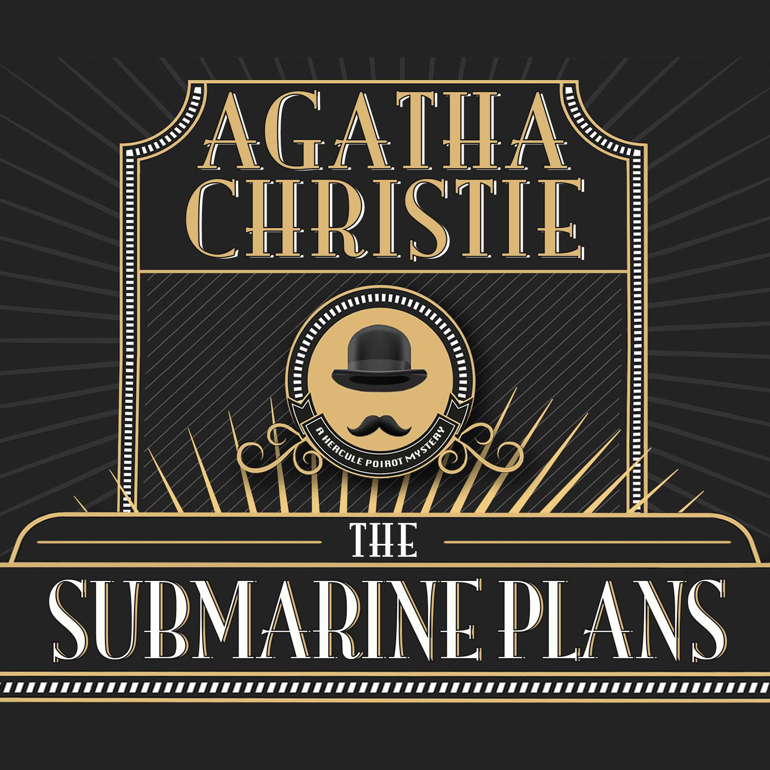 The Submarine Plans Audiobook, by Agatha Christie