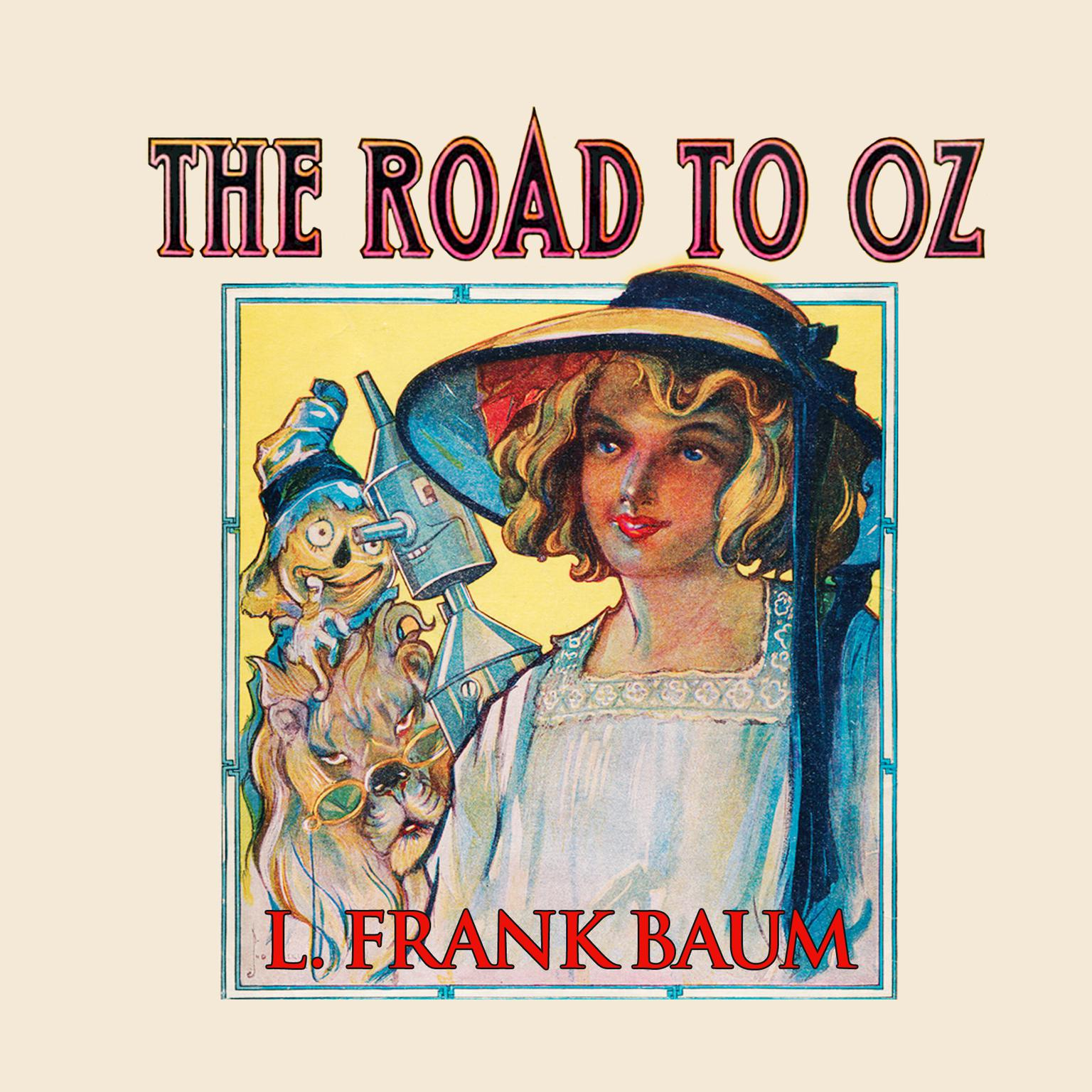 Printable The Road to Oz Audiobook Cover Art