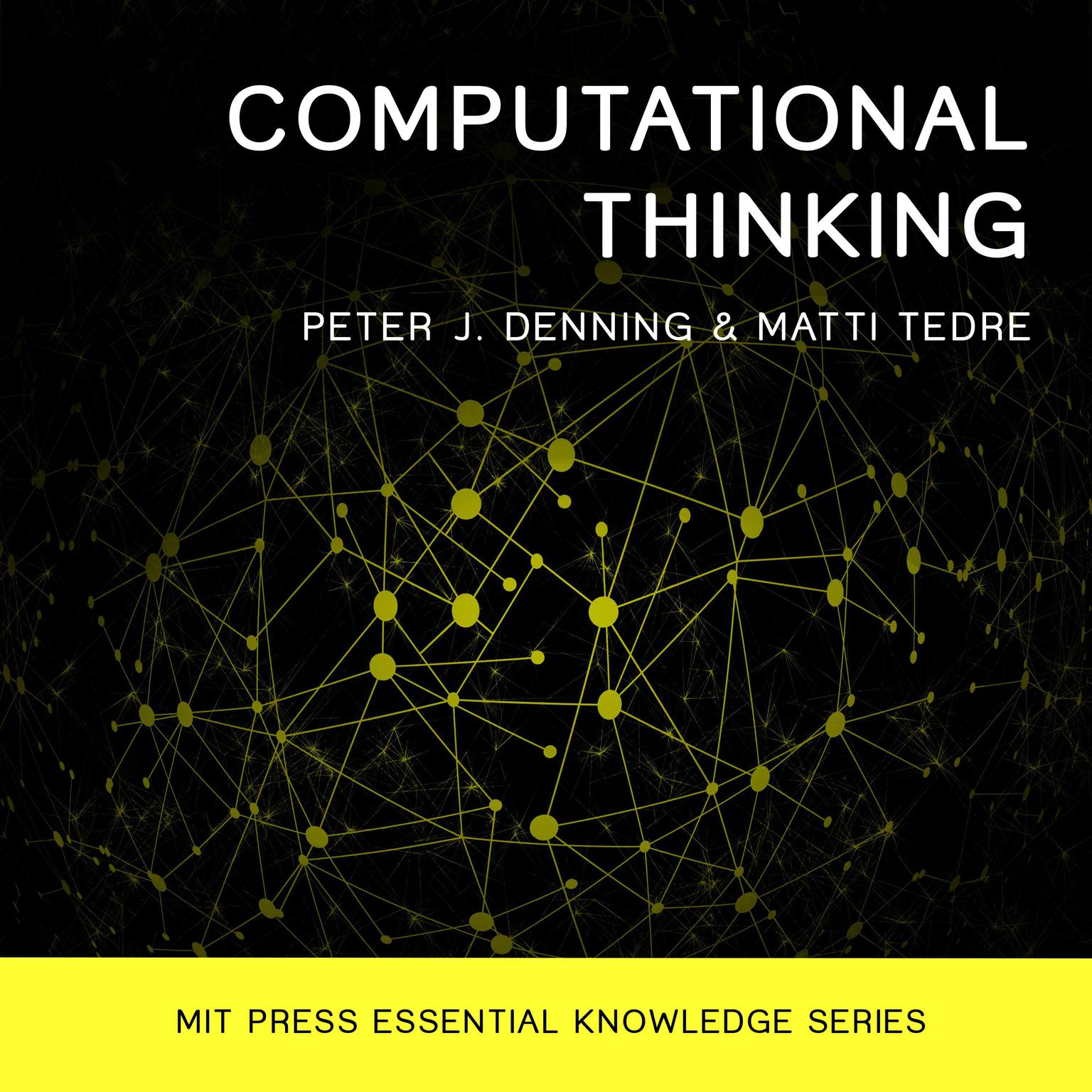 Printable Computational Thinking Audiobook Cover Art