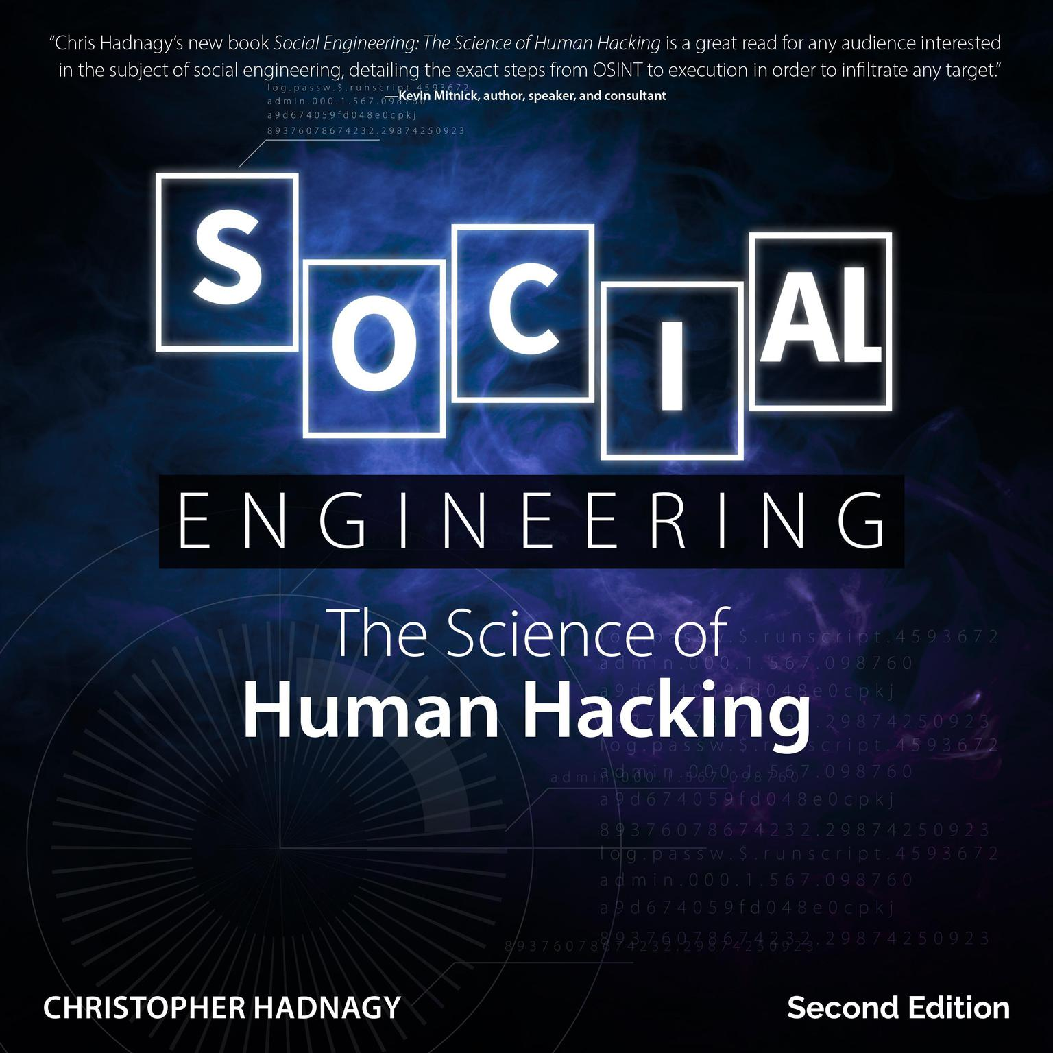 Printable Social Engineering: The Science of Human Hacking 2nd Edition Audiobook Cover Art
