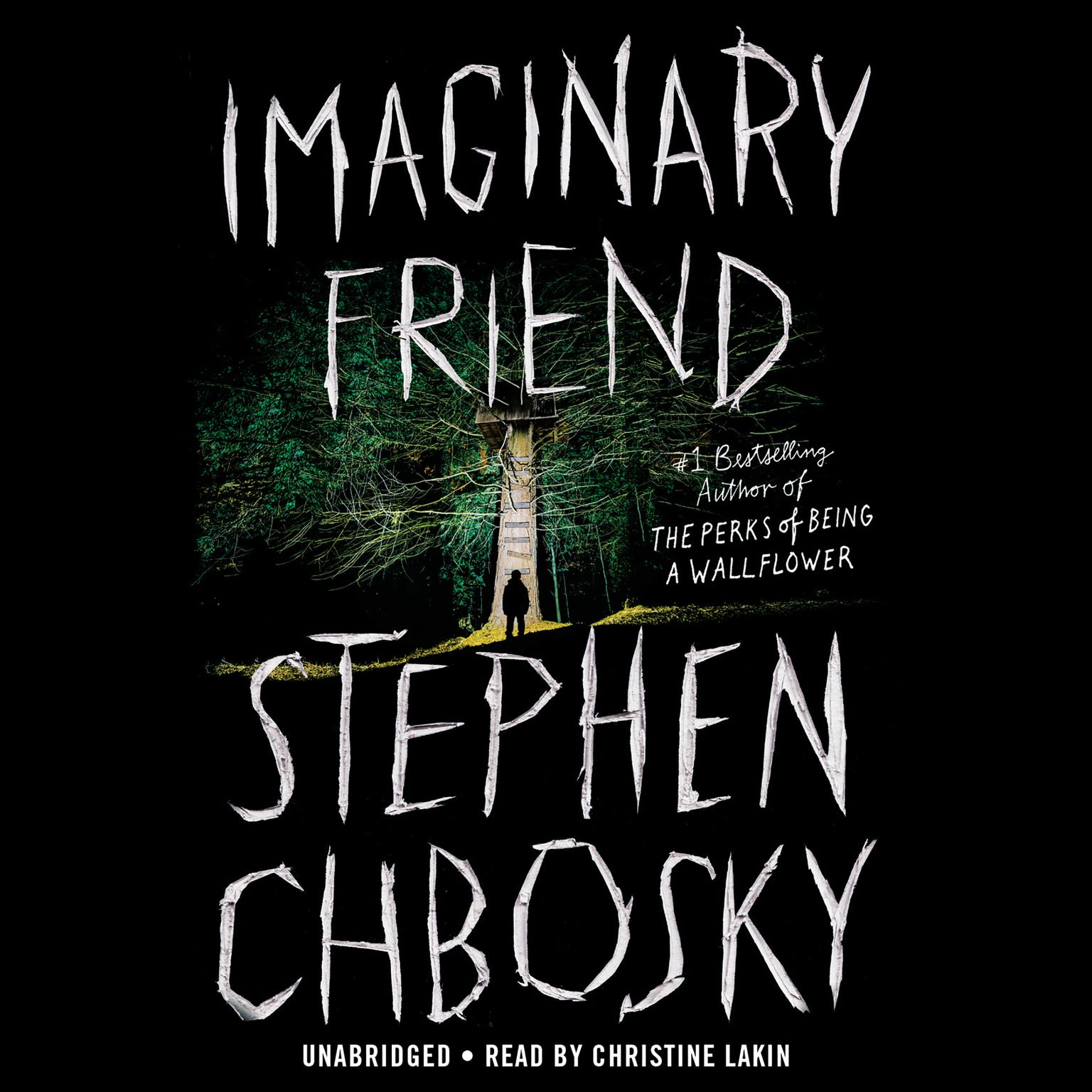 Printable Imaginary Friend Audiobook Cover Art