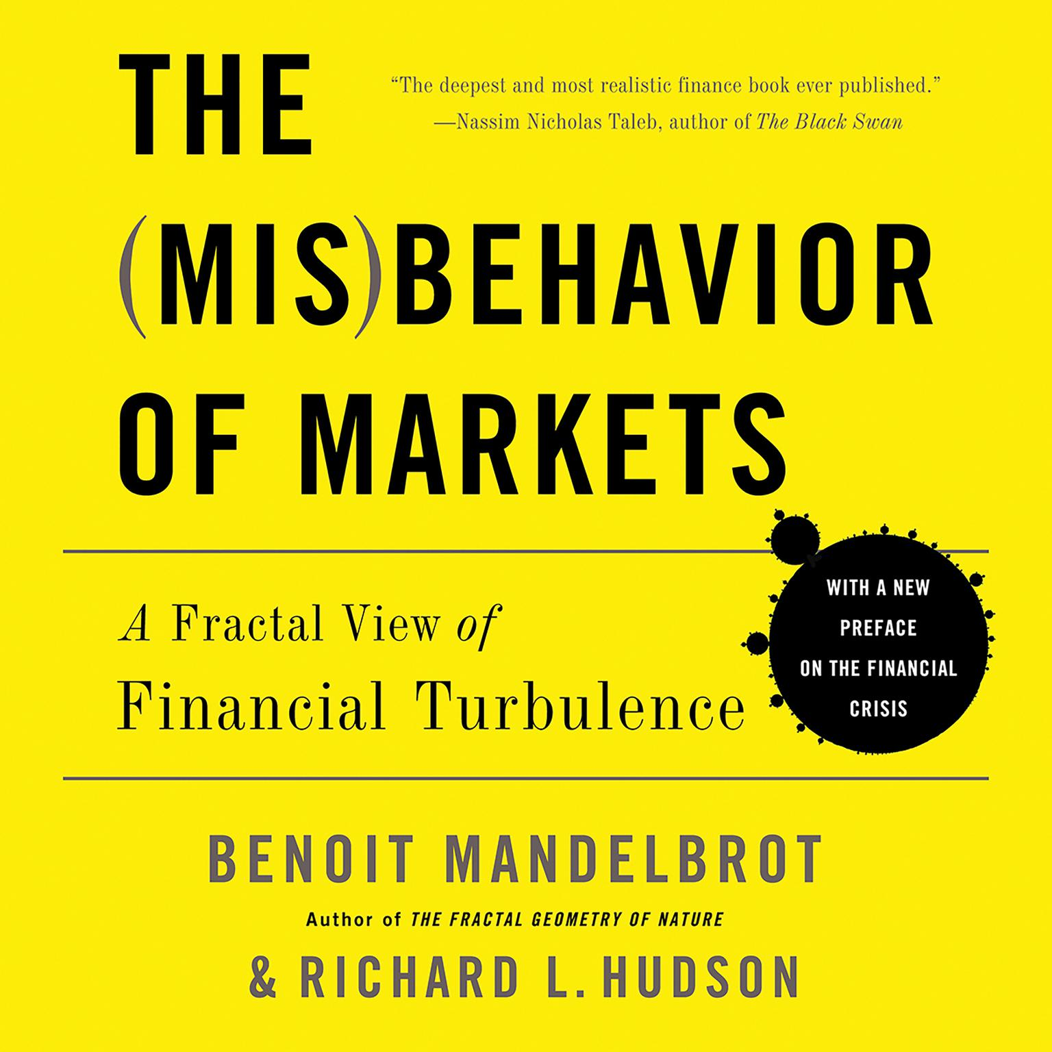 Printable The Misbehavior of Markets: A Fractal View of Financial Turbulence Audiobook Cover Art