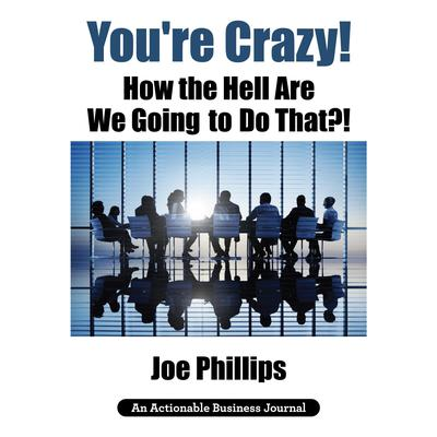 Youre Crazy! How the Hell Are We Going to Do That?! Audiobook, by Joe Phillips