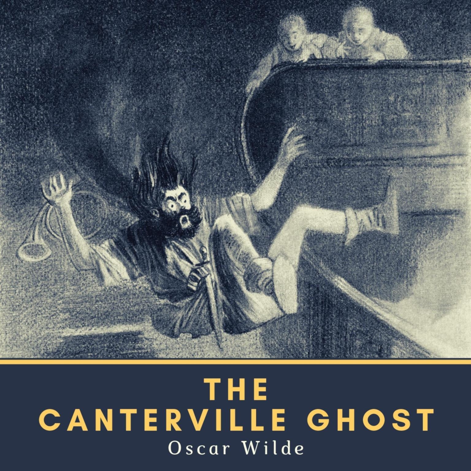Printable The Canterville Ghost Audiobook Cover Art