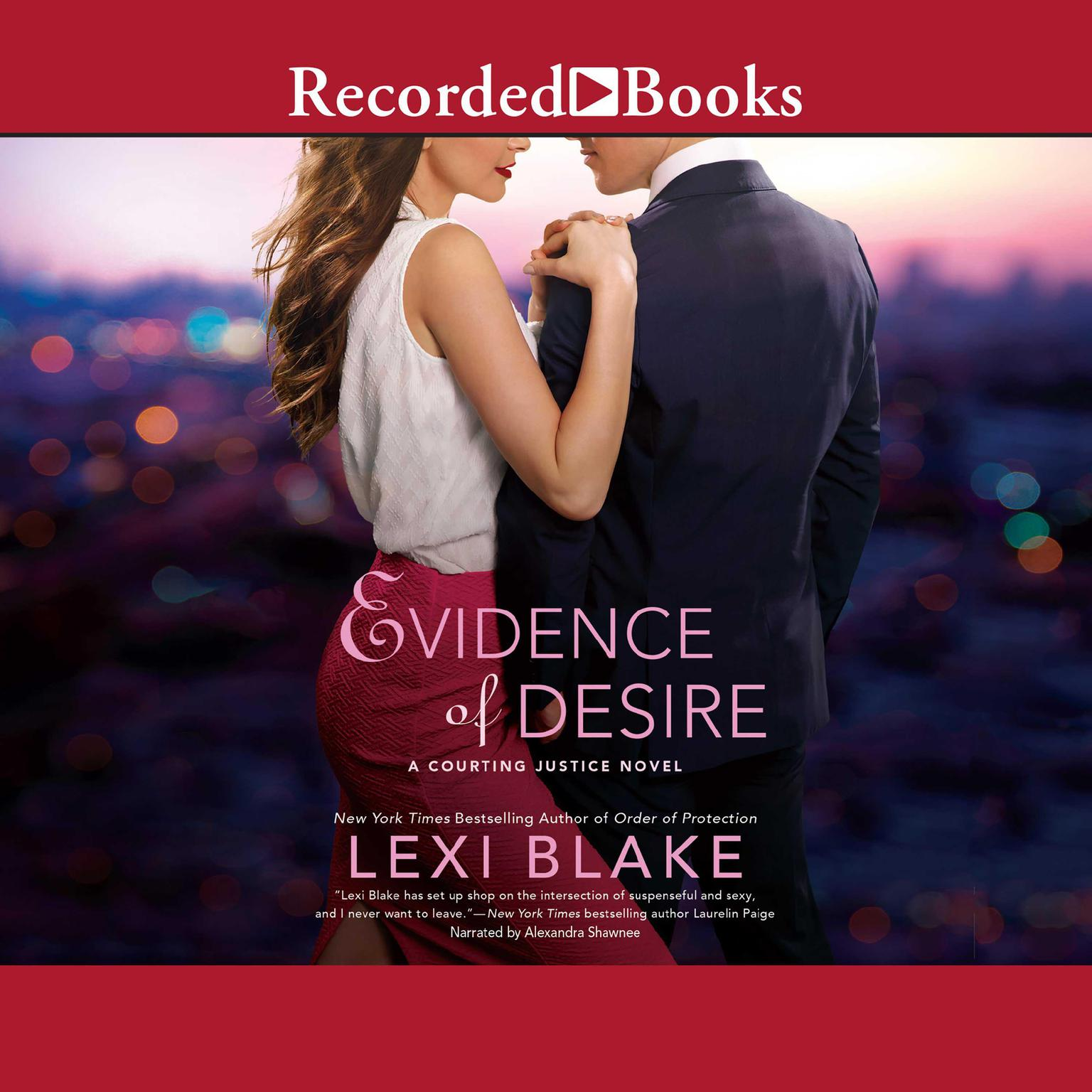 Printable Evidence of Desire Audiobook Cover Art