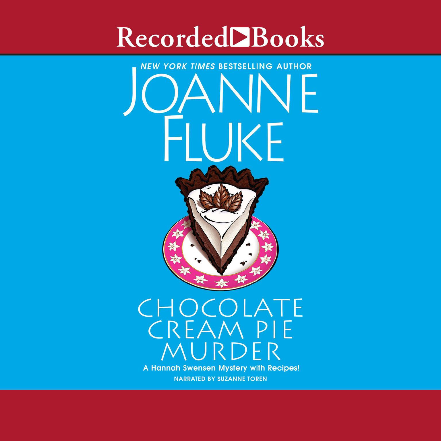 Printable Chocolate Cream Pie Murder Audiobook Cover Art
