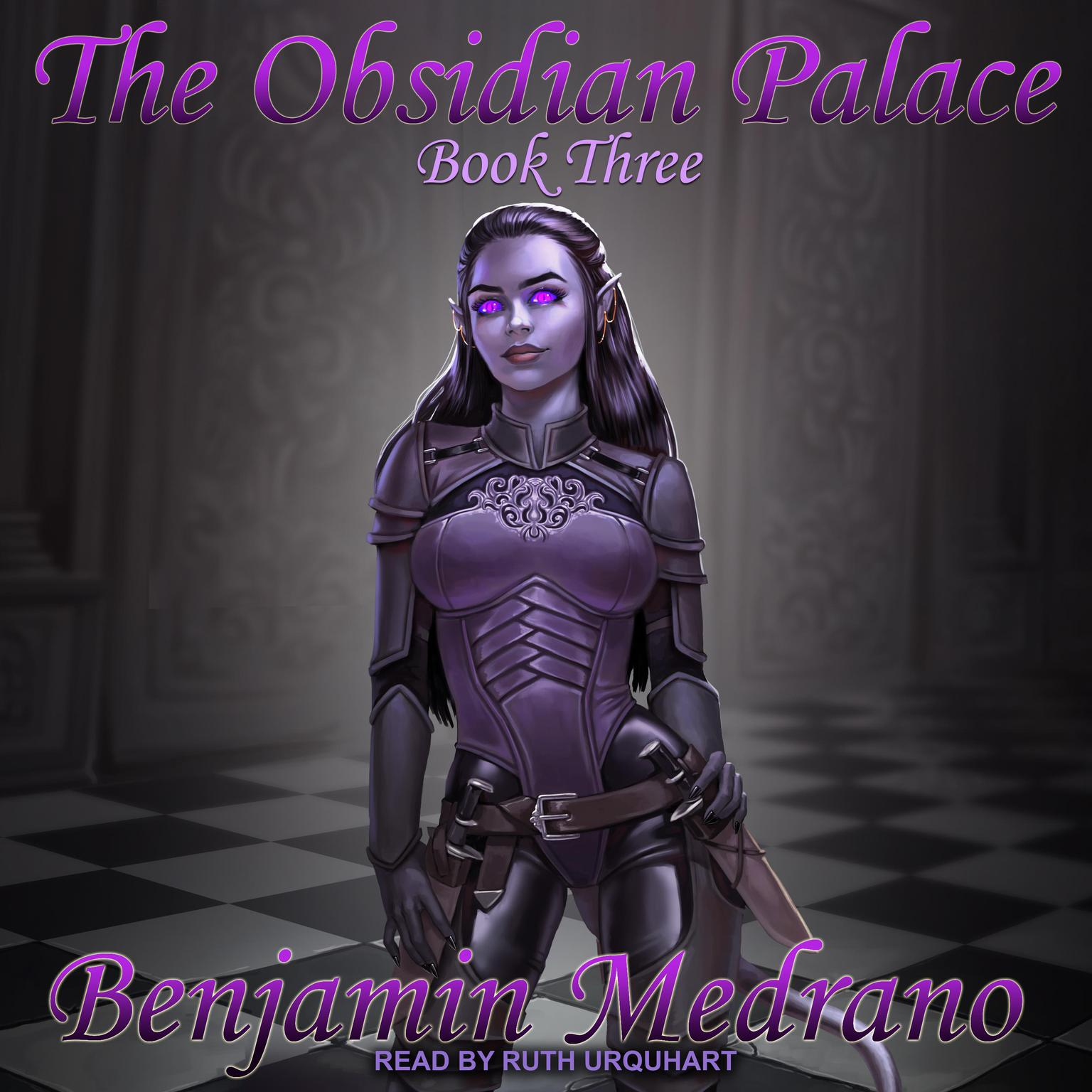 Printable The Obsidian Palace  Audiobook Cover Art