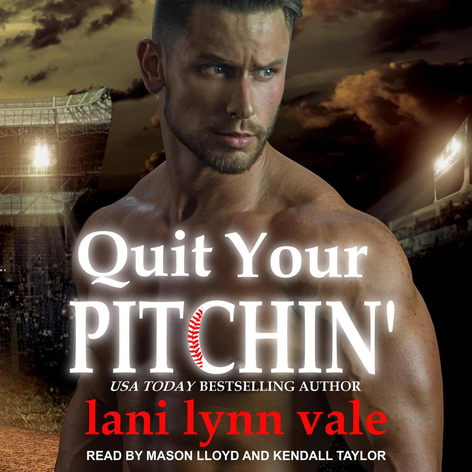 Printable Quit Your Pitchin' Audiobook Cover Art