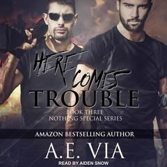 Here Comes Trouble Audiobook, by A.E. Via
