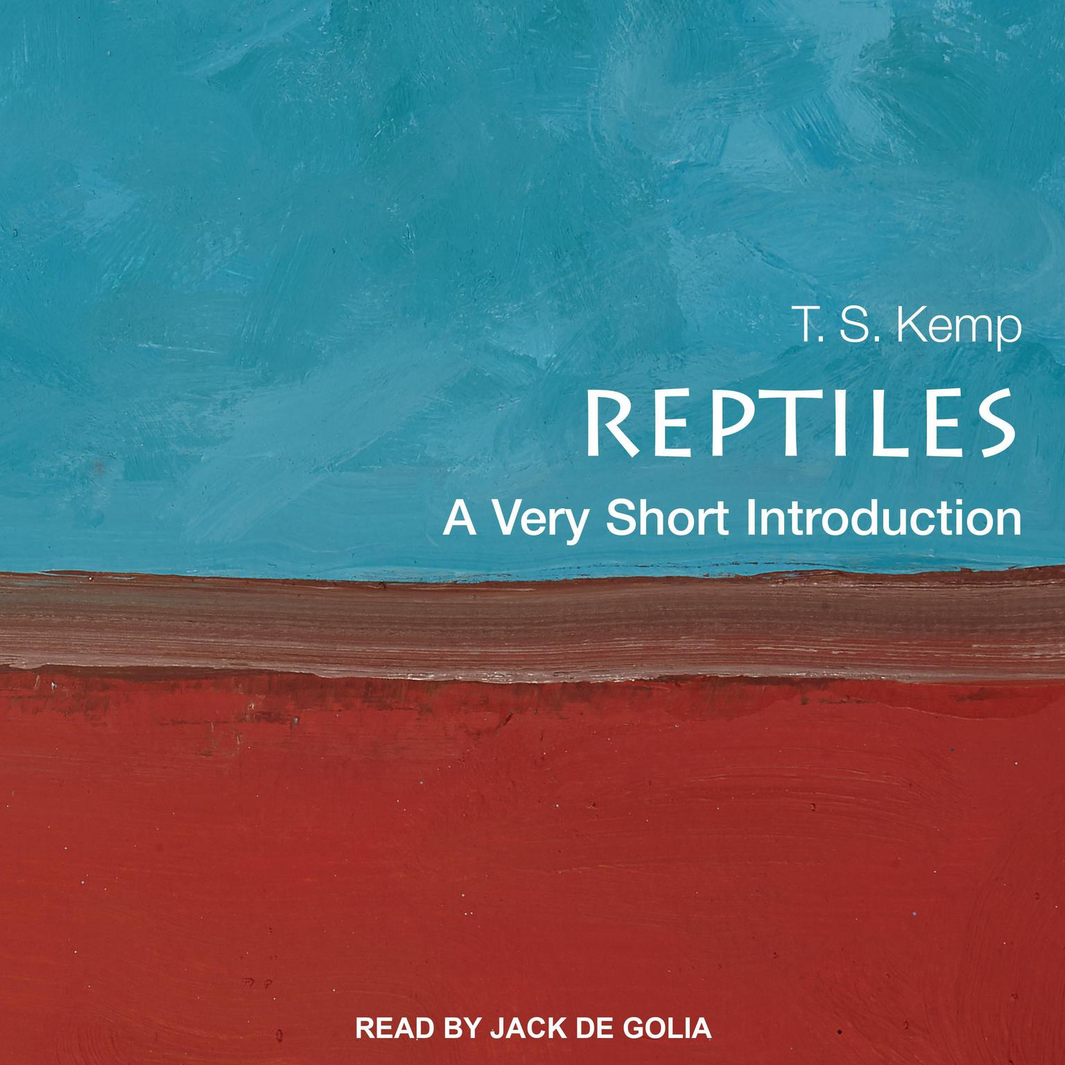 Printable Reptiles: A Very Short Introduction Audiobook Cover Art