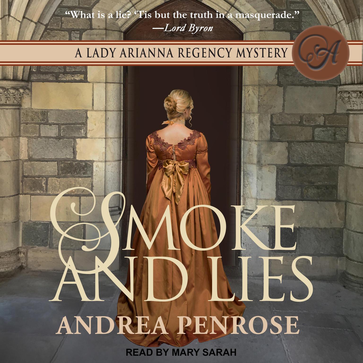 Printable Smoke and Lies Audiobook Cover Art