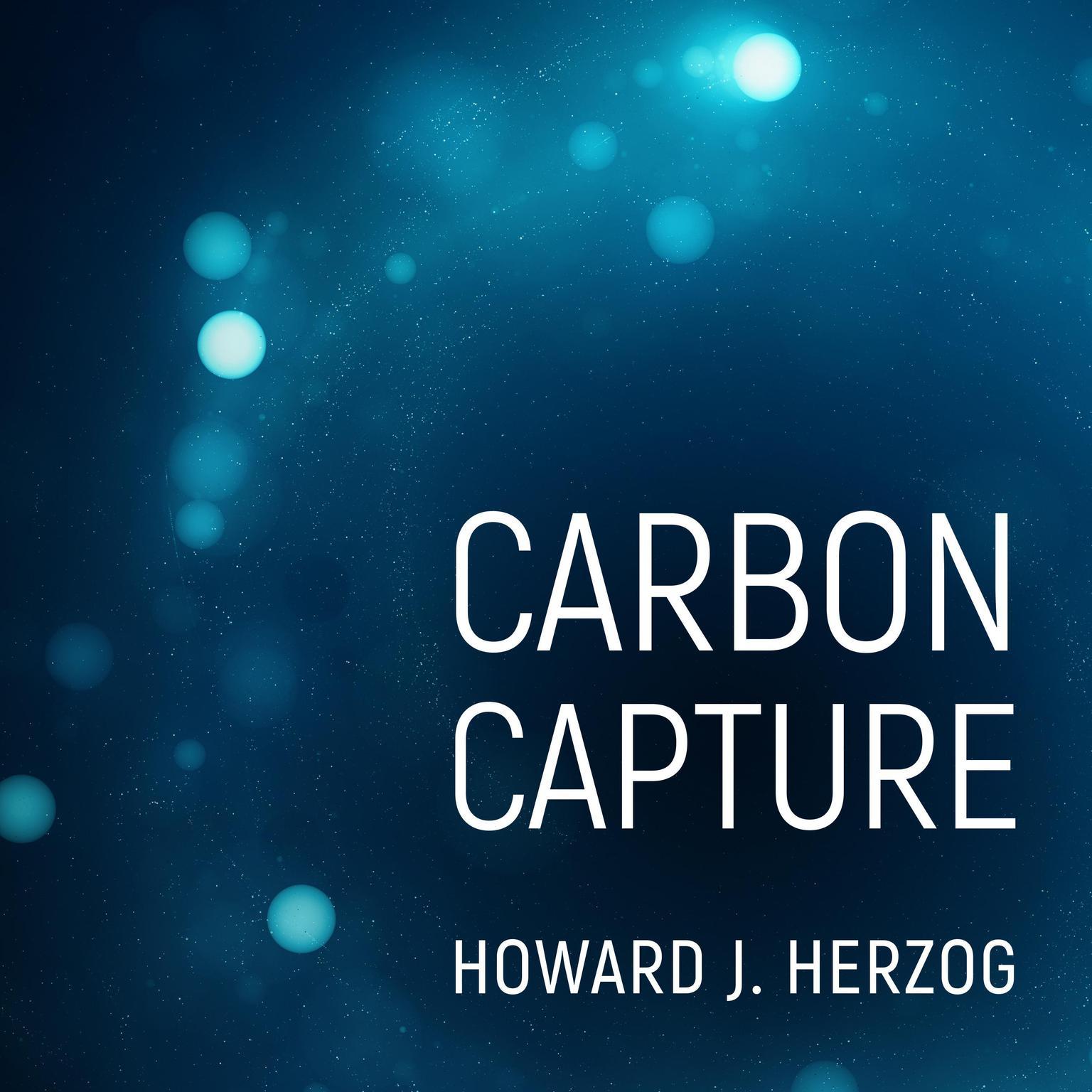 Printable Carbon Capture Audiobook Cover Art