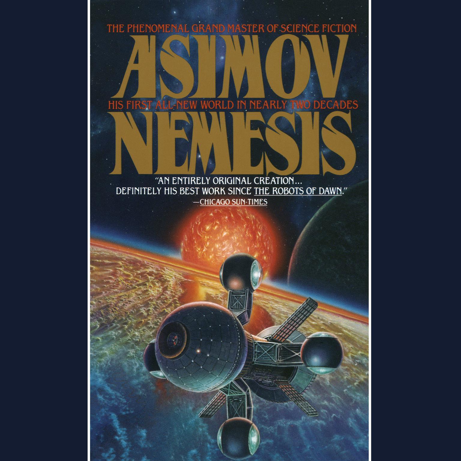 Printable Nemesis: A Novel Audiobook Cover Art
