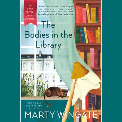 The Bodies in the Library Audiobook, by Marty Wingate