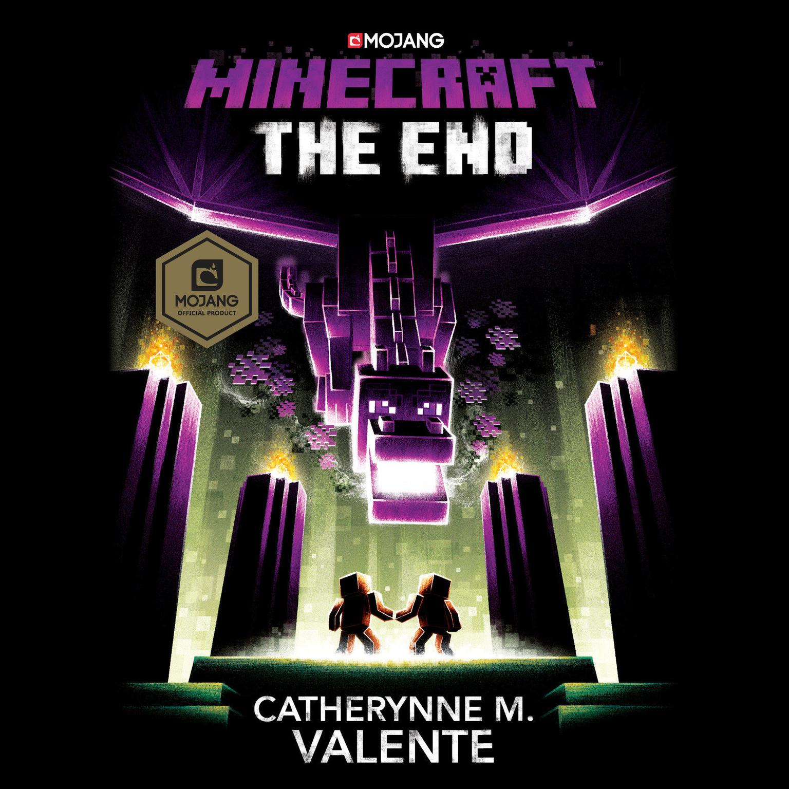 Printable Minecraft: The End: An Official Minecraft Novel Audiobook Cover Art