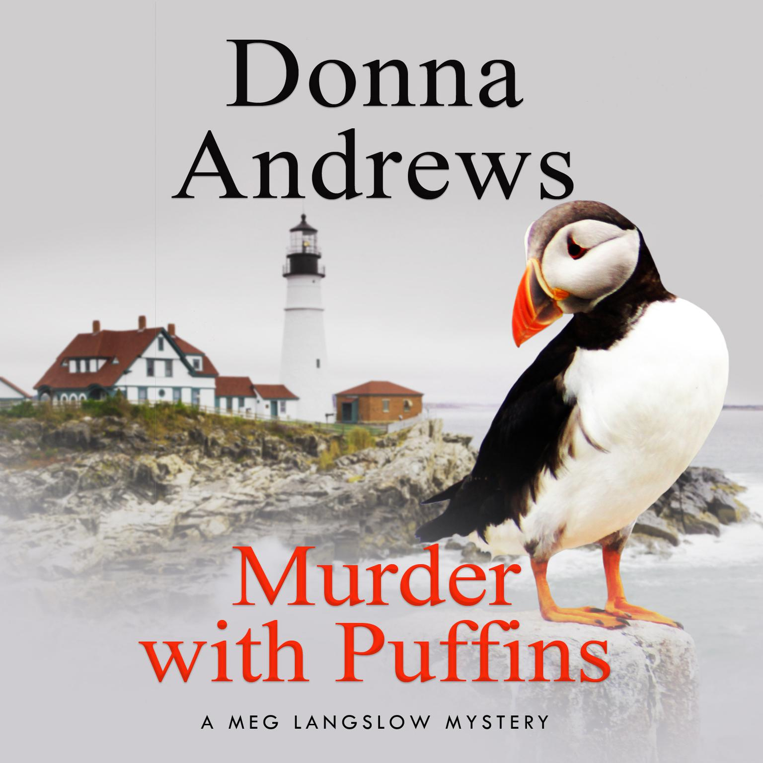 Printable Murder with Puffins Audiobook Cover Art