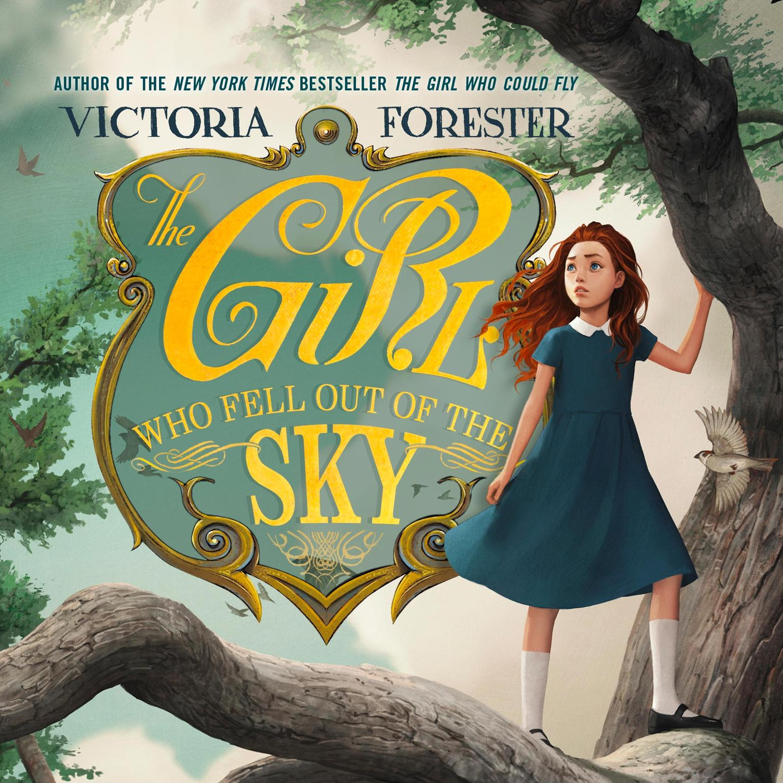 Printable The Girl Who Fell out of the Sky Audiobook Cover Art