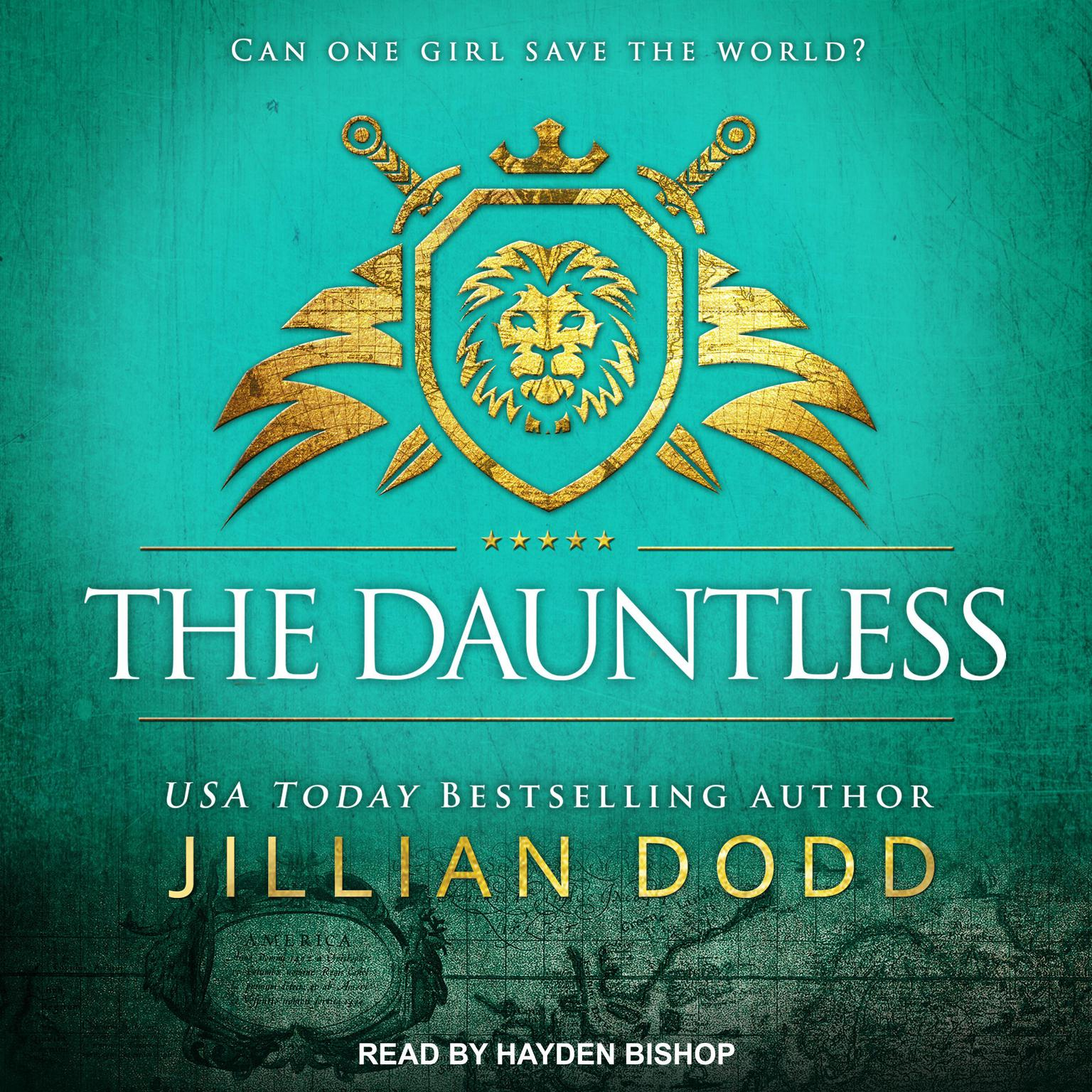 Printable The Dauntless Audiobook Cover Art