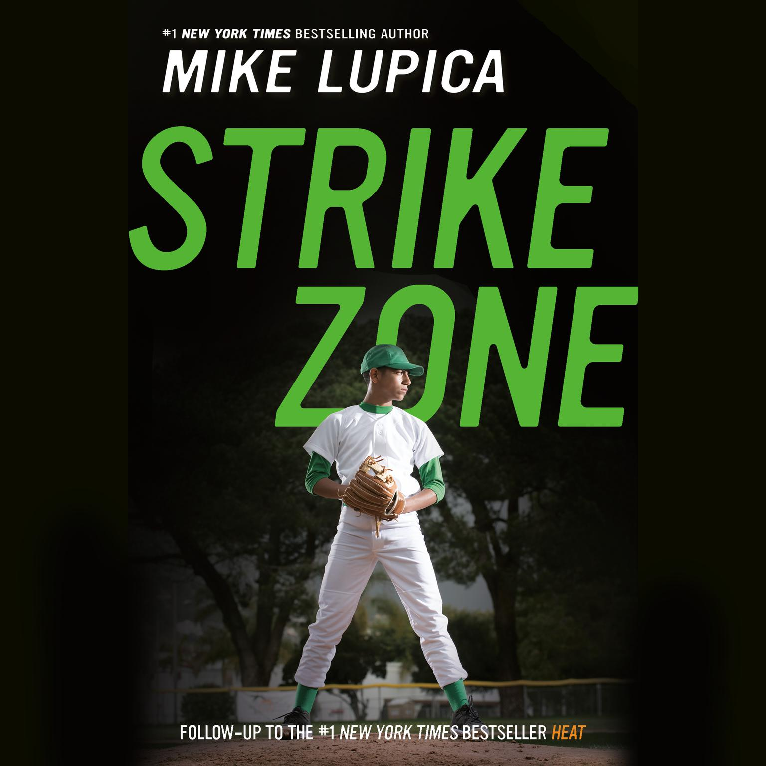 Printable Strike Zone Audiobook Cover Art