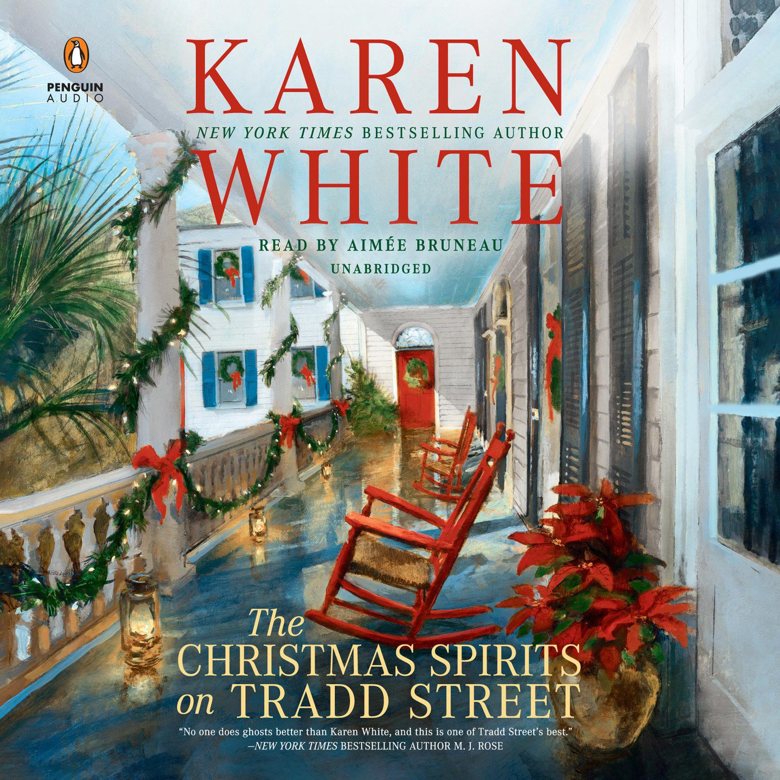 Printable The Christmas Spirits on Tradd Street Audiobook Cover Art