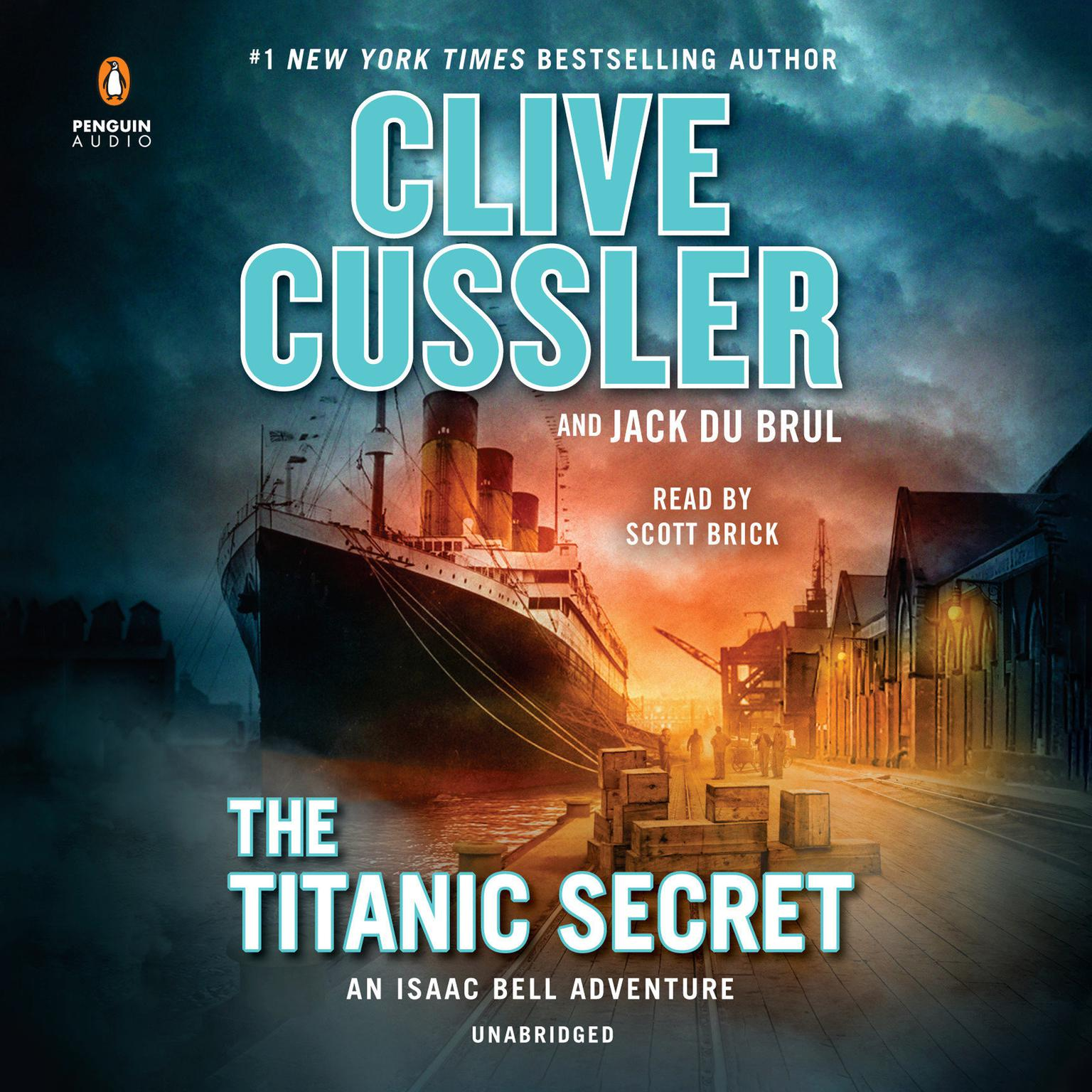 Printable The Titanic Secret Audiobook Cover Art