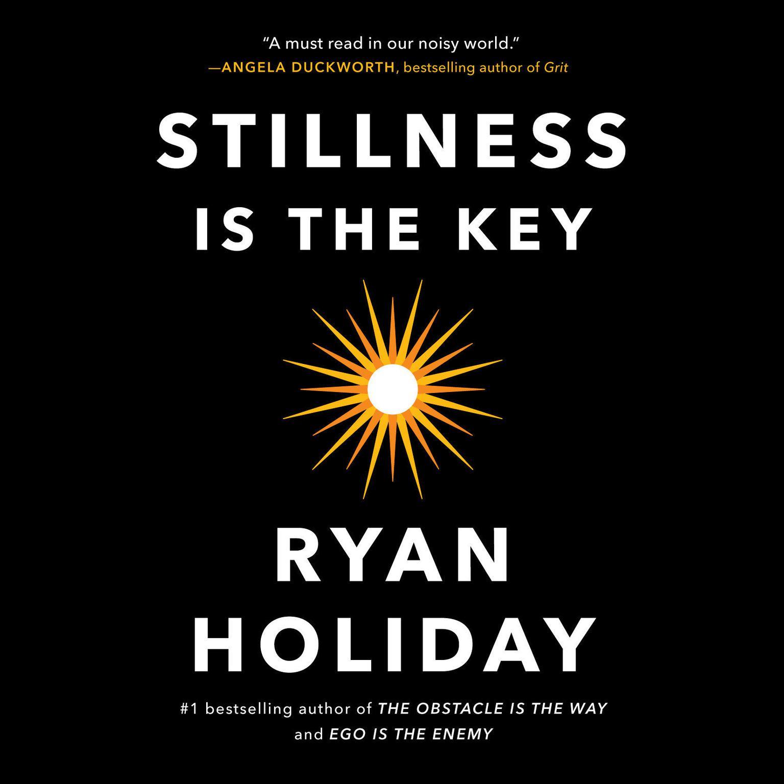 Printable Stillness Is the Key Audiobook Cover Art