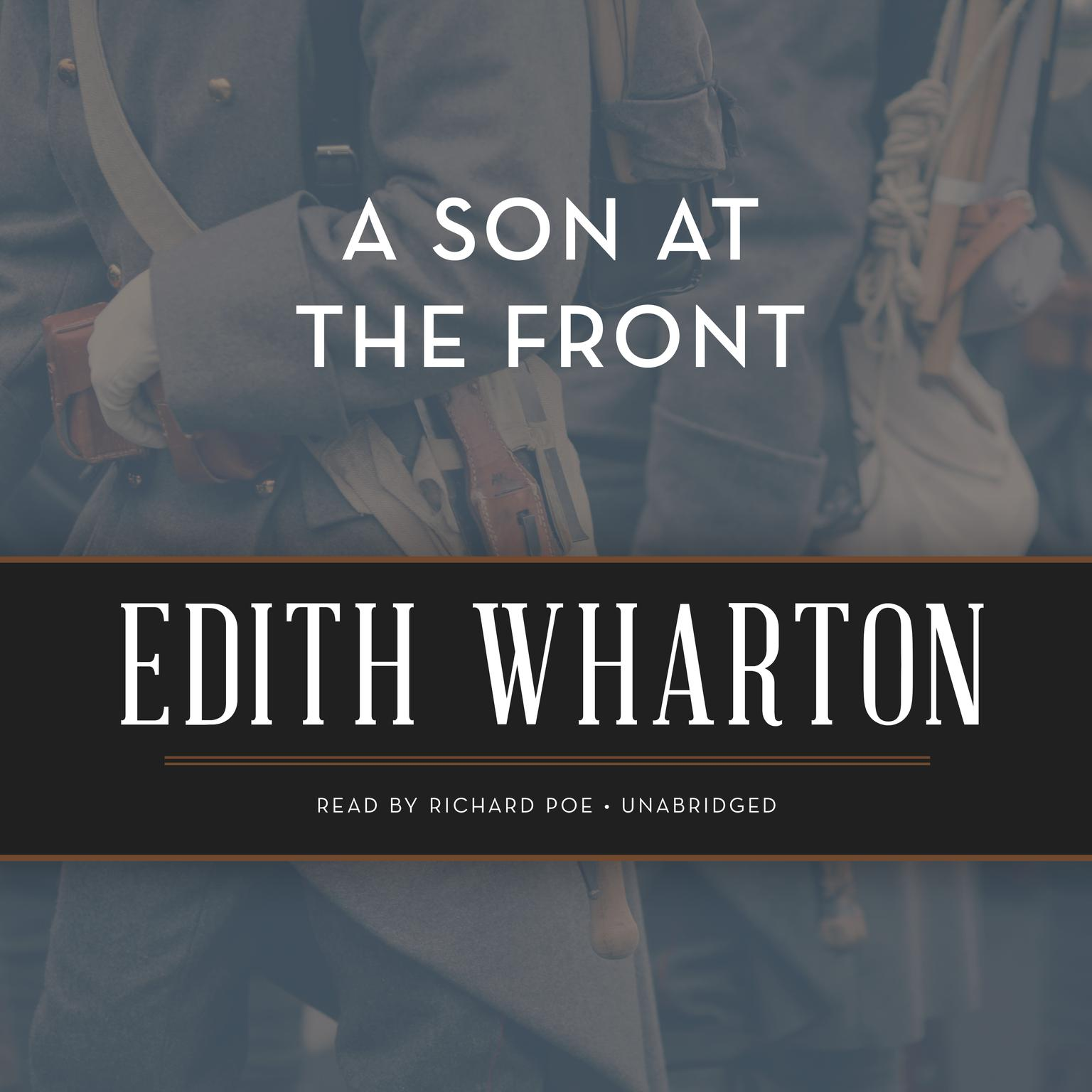 Printable A Son at the Front Audiobook Cover Art