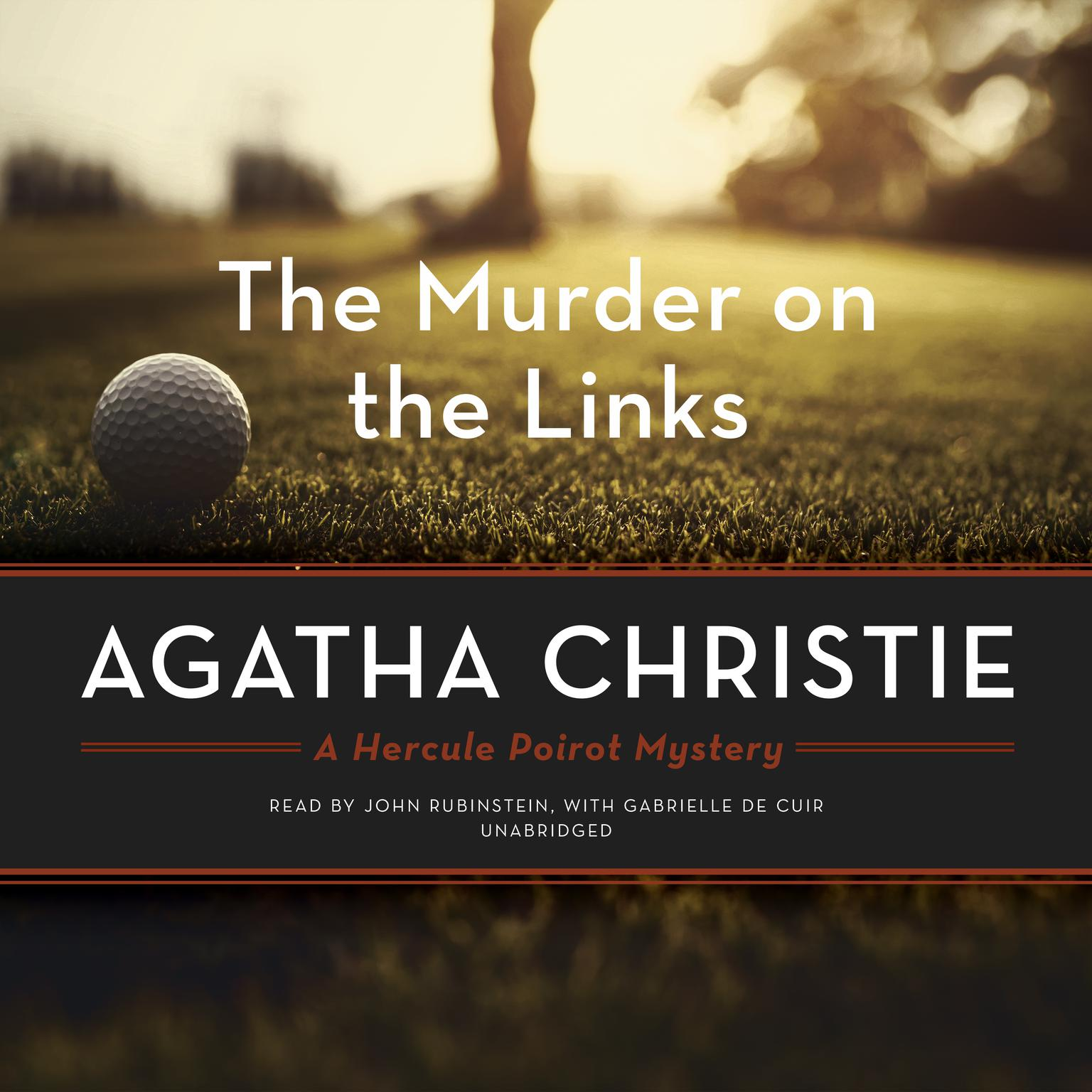 Printable The Murder on the Links: A Hercule Poirot Mystery Audiobook Cover Art