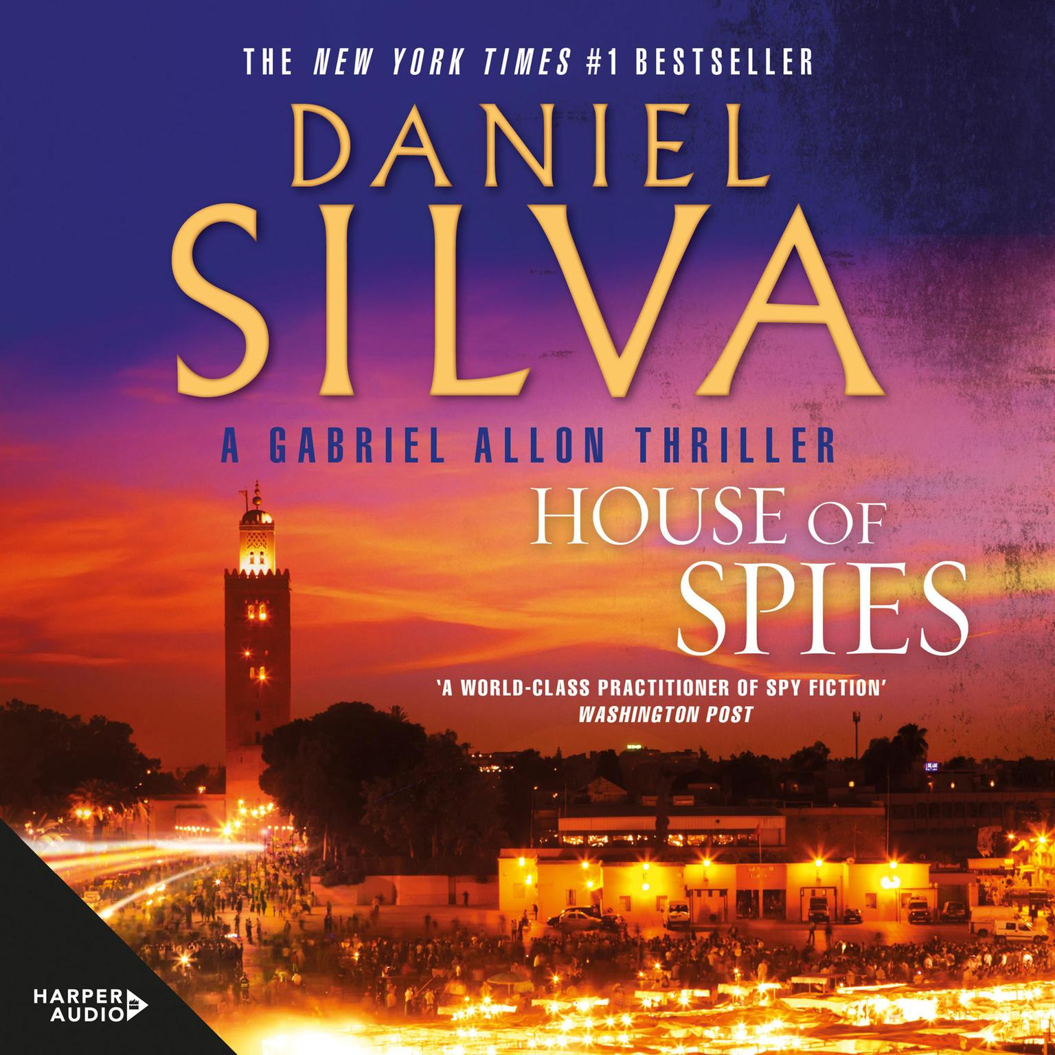 Printable House of Spies Audiobook Cover Art