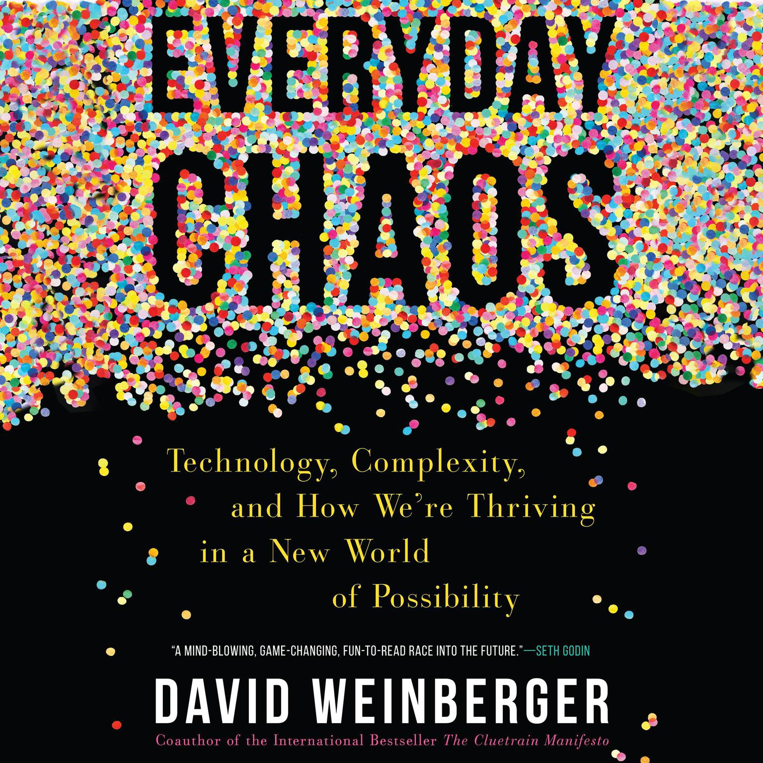 Printable Everyday Chaos: Technology, Complexity, and How We're Thriving in a New World of Possibility Audiobook Cover Art