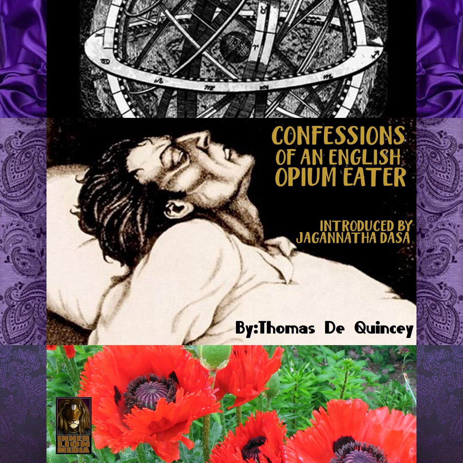 Printable Confessions of an English Opium Eater Audiobook Cover Art