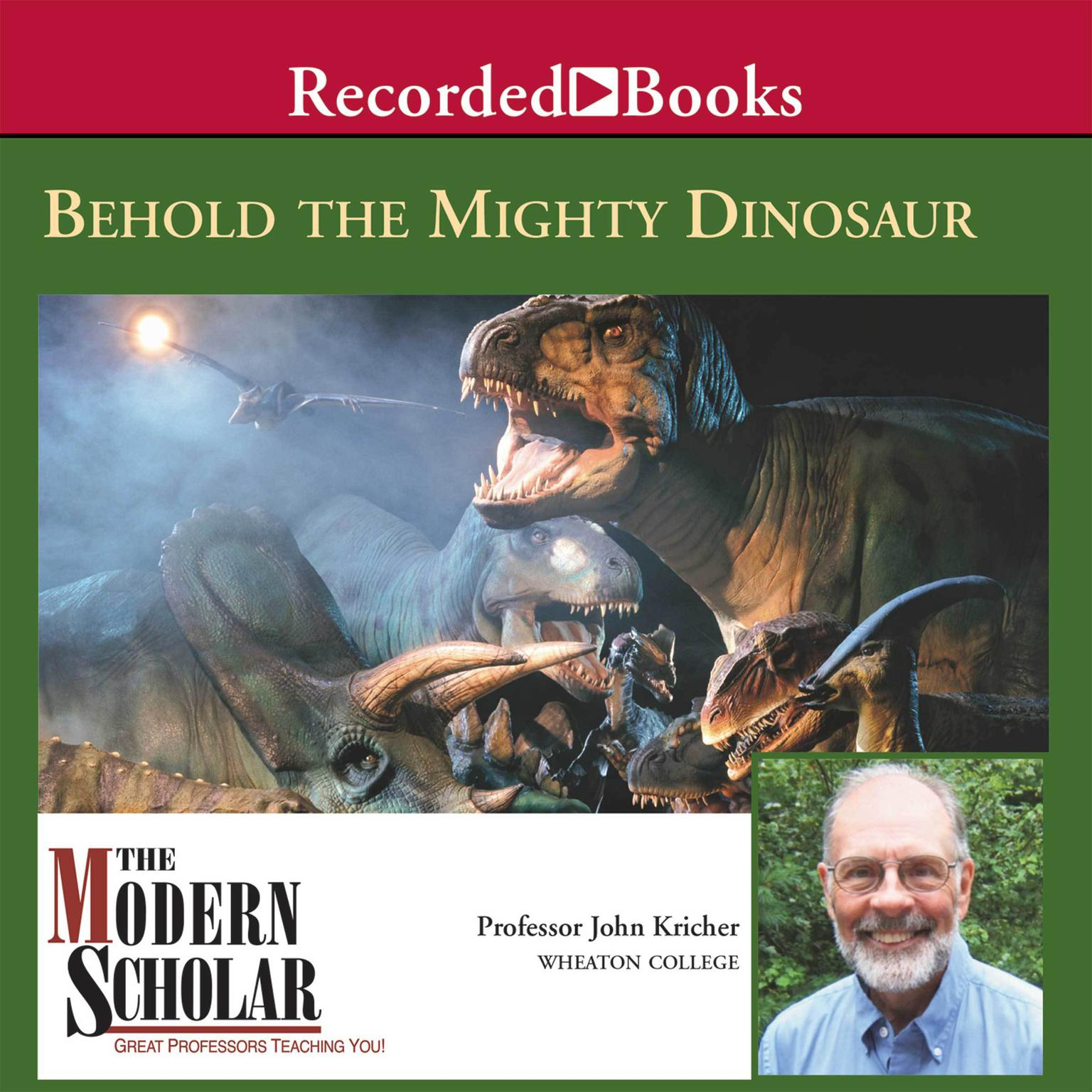 Printable Behold the Mighty Dinosaur Audiobook Cover Art