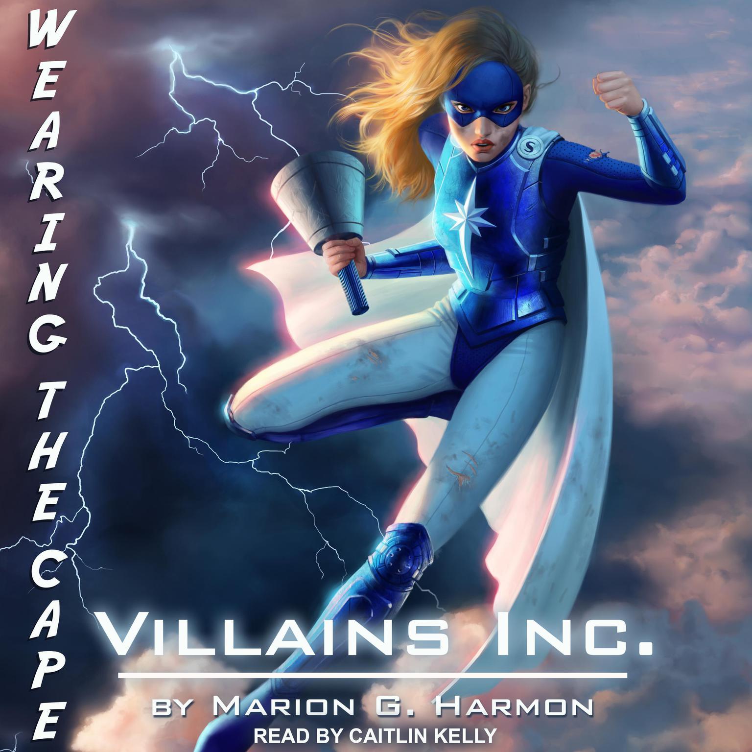 Printable Villains Inc. Audiobook Cover Art