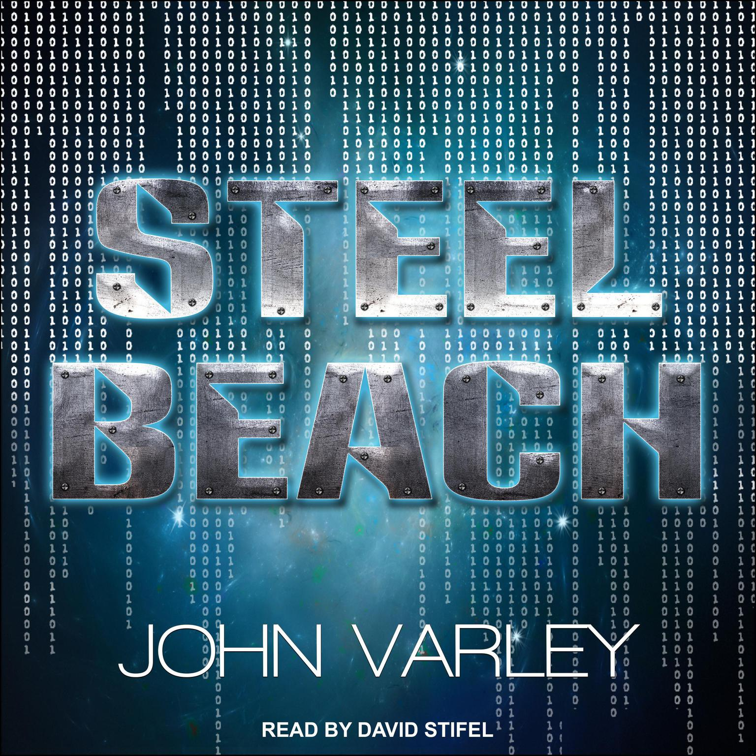 Printable Steel Beach Audiobook Cover Art