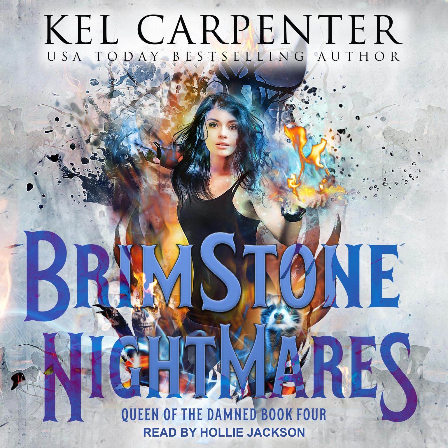 Printable Brimstone Nightmares Audiobook Cover Art