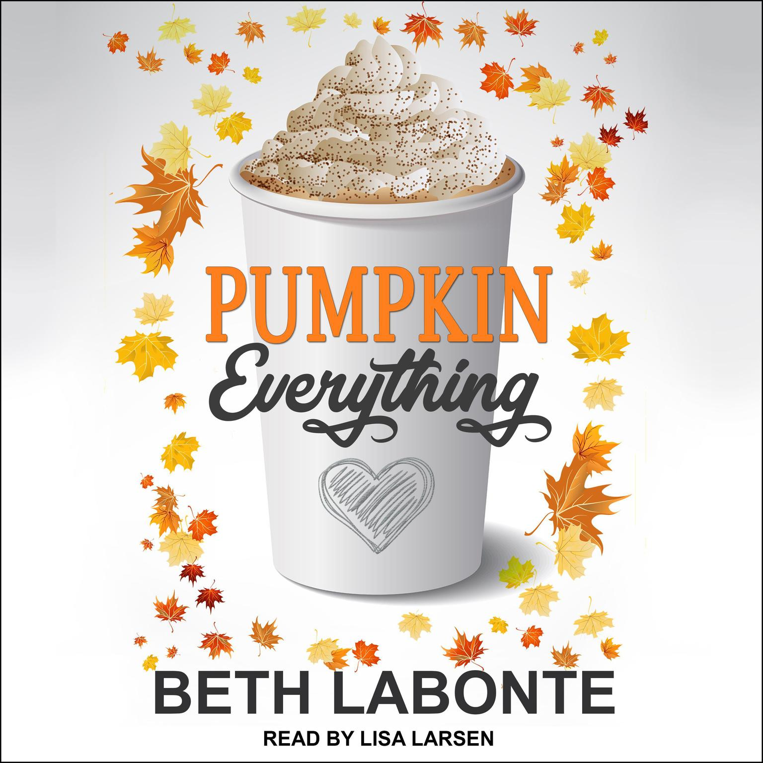 Printable Pumpkin Everything Audiobook Cover Art