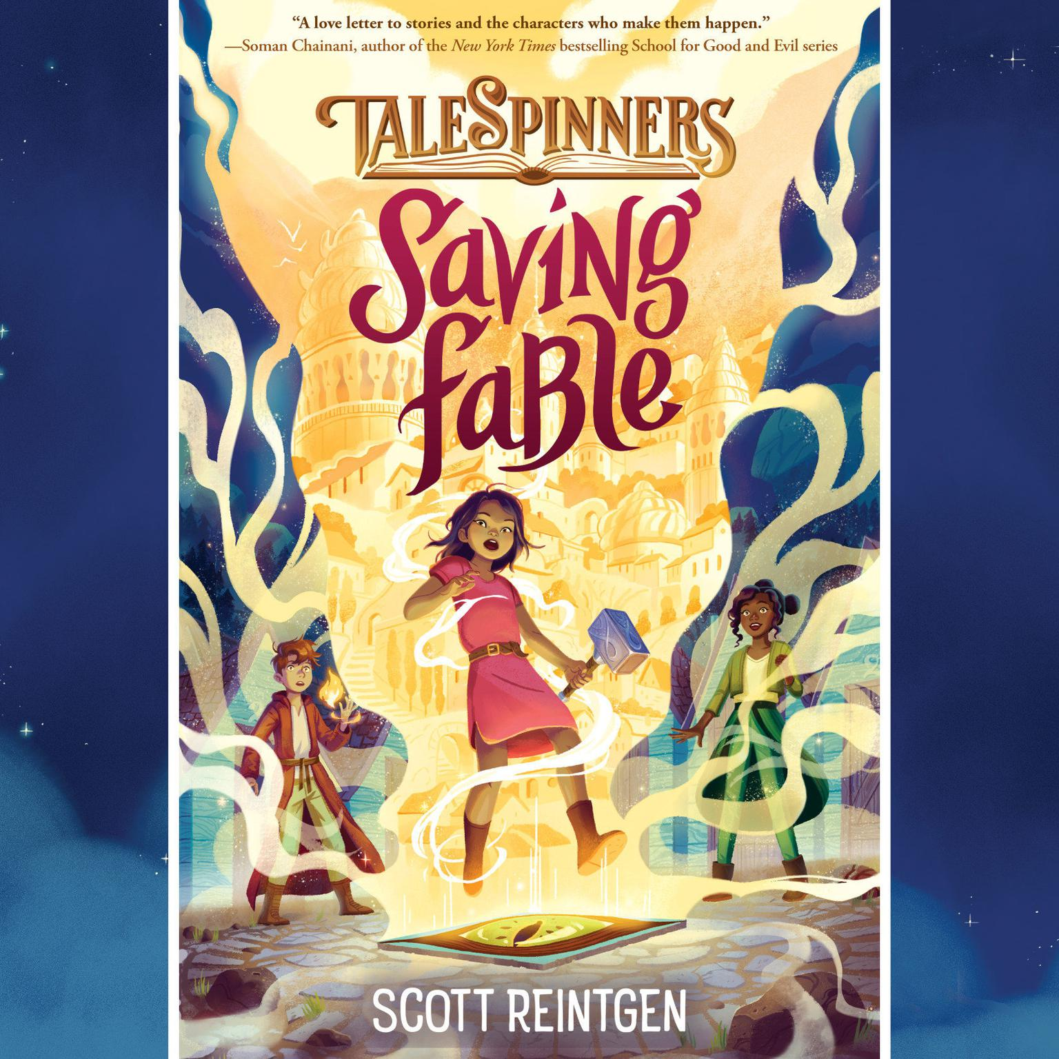 Printable Saving Fable Audiobook Cover Art