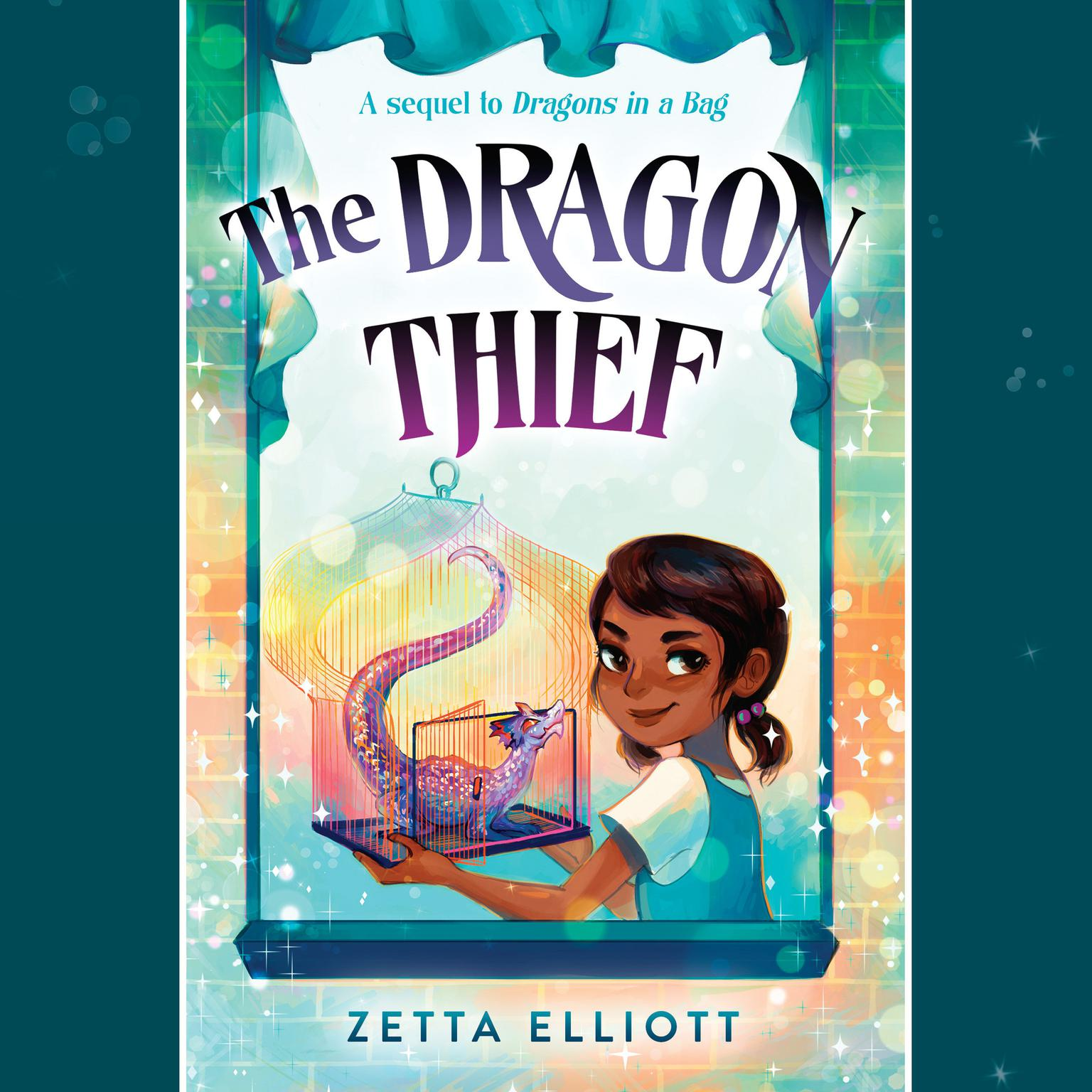 Printable The Dragon Thief Audiobook Cover Art