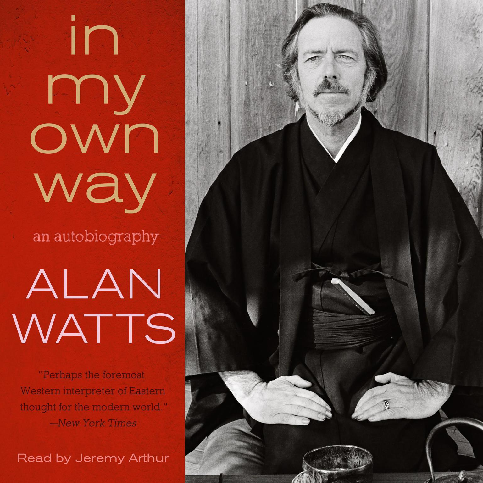 Printable In My Own Way: An Autobiography Audiobook Cover Art