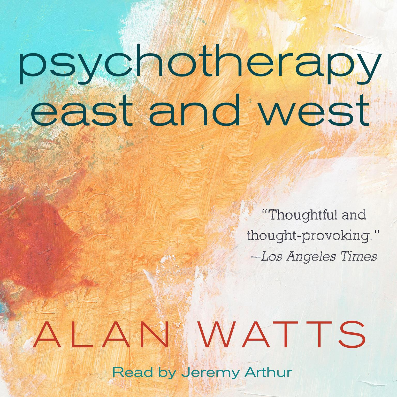 Printable Psychotherapy East and West Audiobook Cover Art