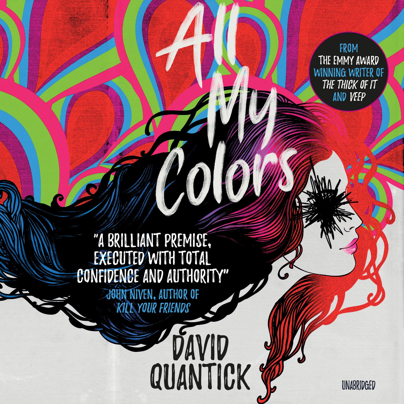 Printable All My Colors Audiobook Cover Art
