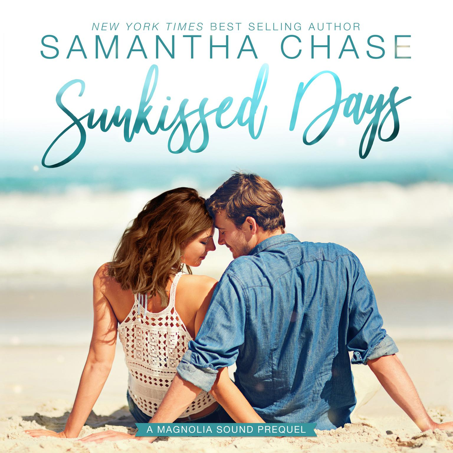 Printable Sunkissed Days Audiobook Cover Art