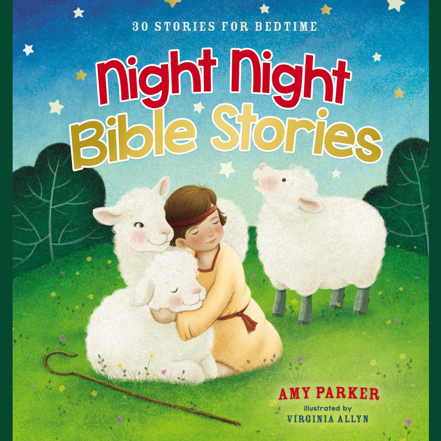 Printable Night Night Bible Stories: 30 Stories for Bedtime Audiobook Cover Art