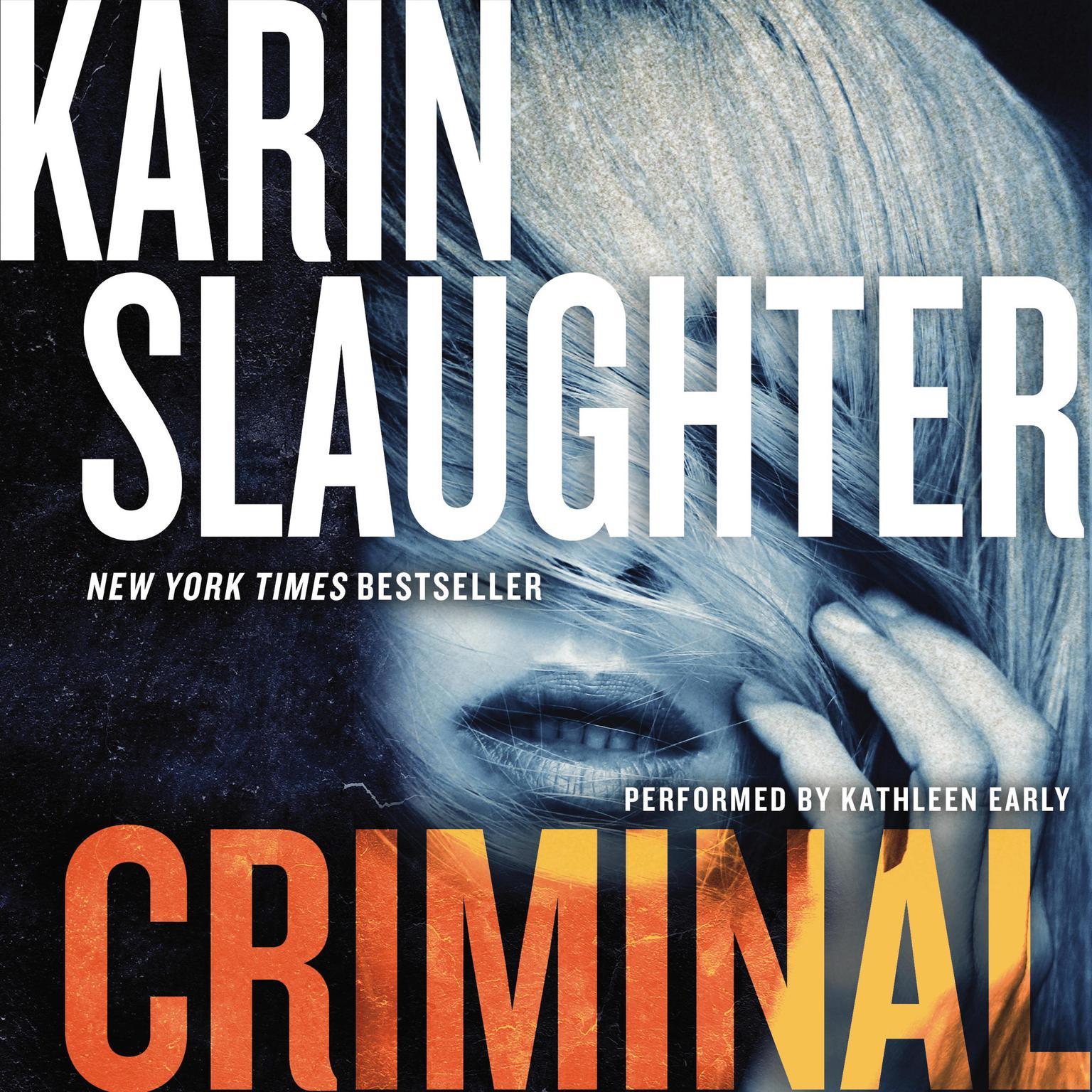 Printable Criminal: A Novel Audiobook Cover Art