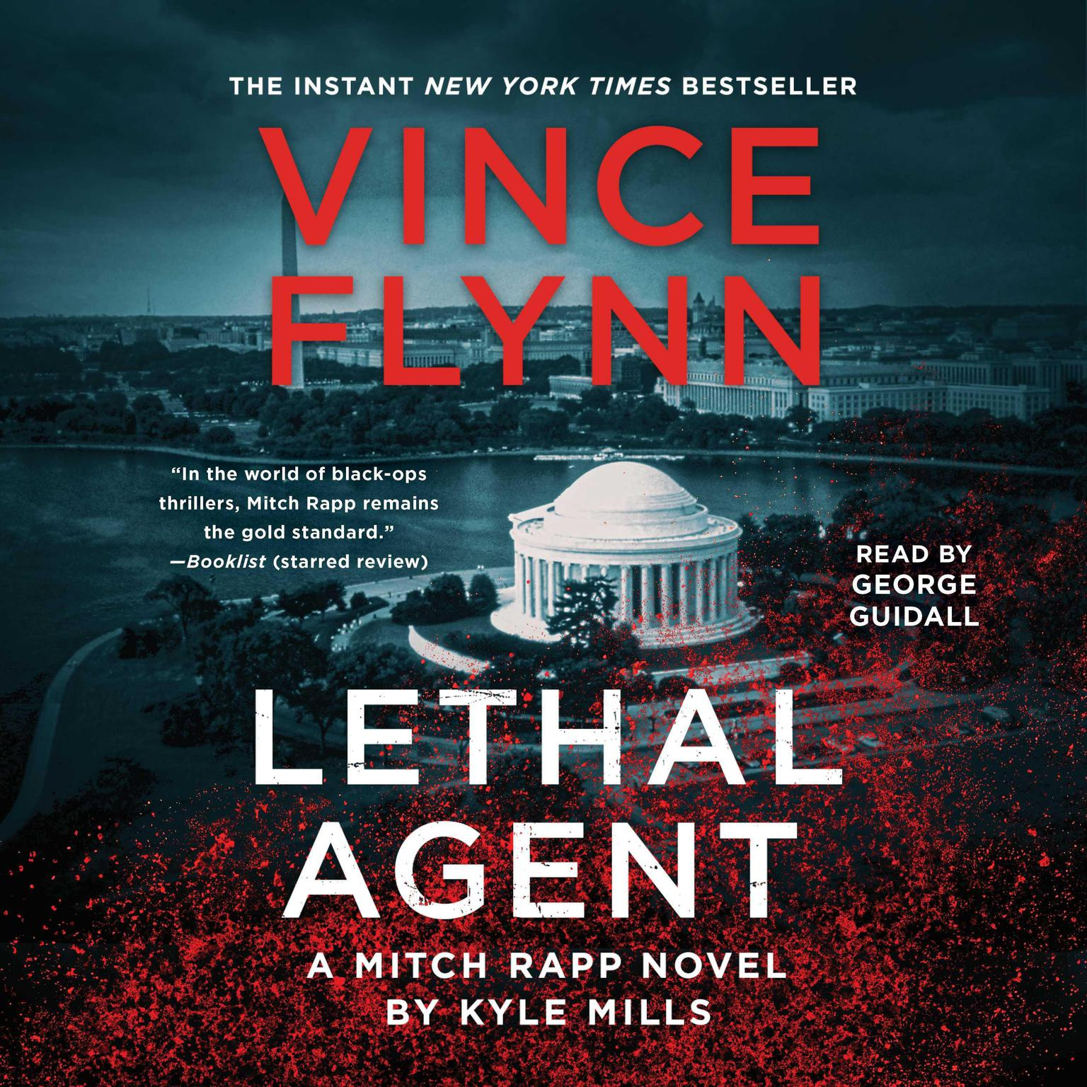 Printable Lethal Agent Audiobook Cover Art