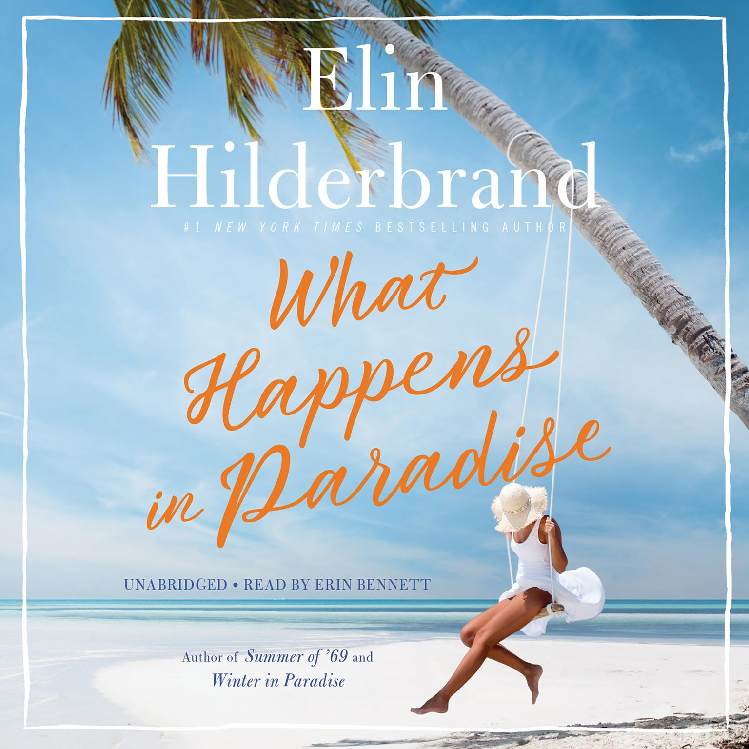 Printable What Happens in Paradise Audiobook Cover Art