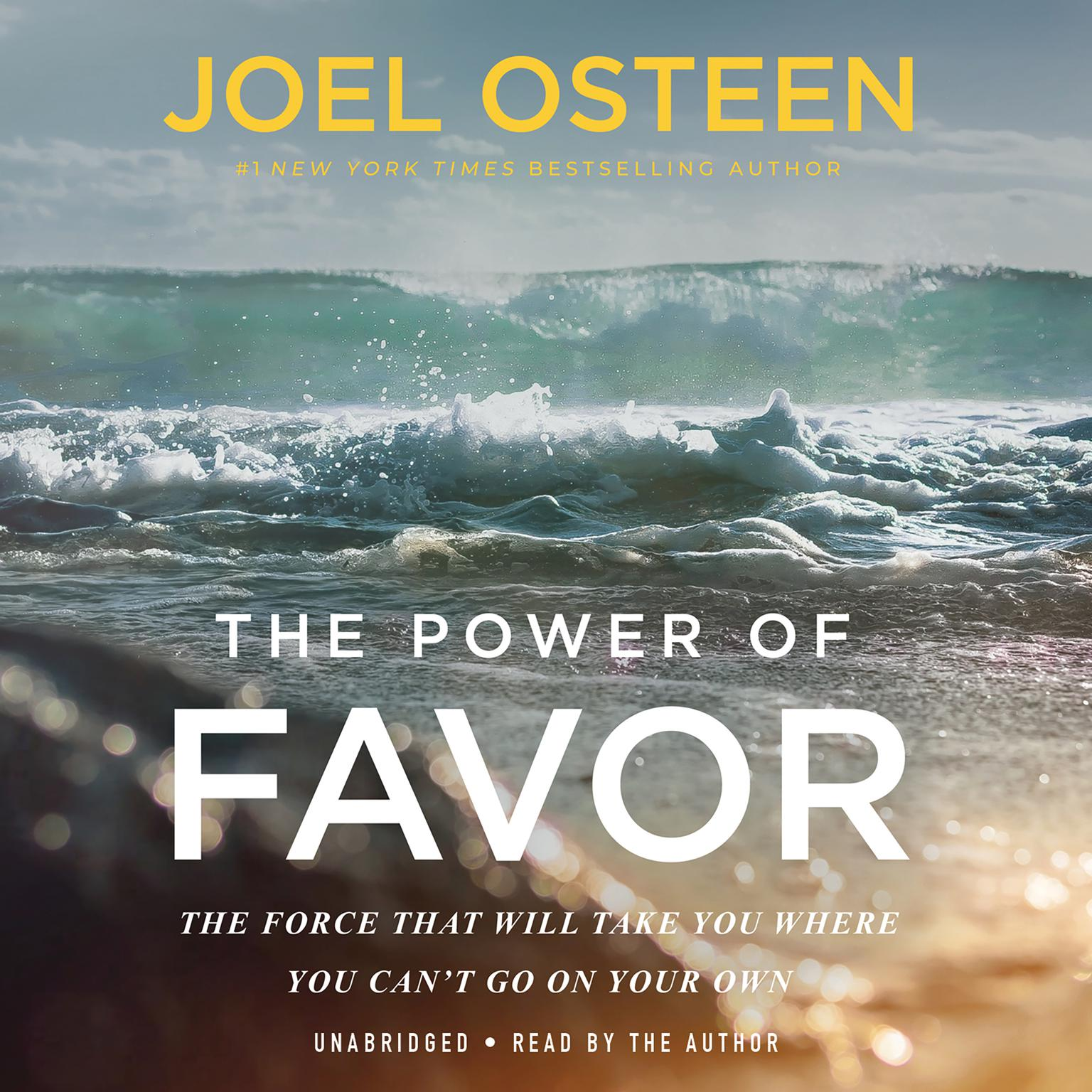 Printable The Power of Favor: The Force That Will Take You Where You Can't Go on Your Own Audiobook Cover Art