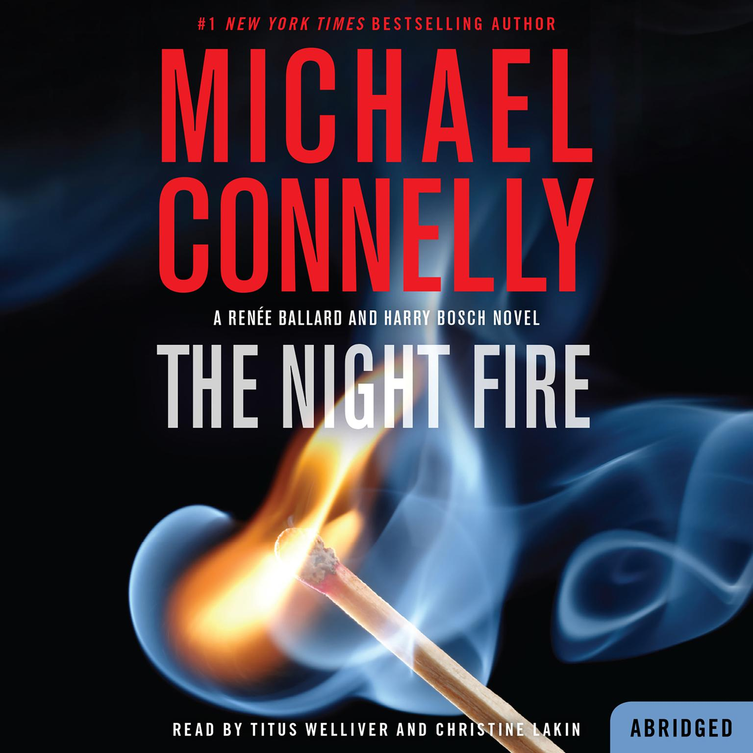 Printable The Night Fire Audiobook Cover Art
