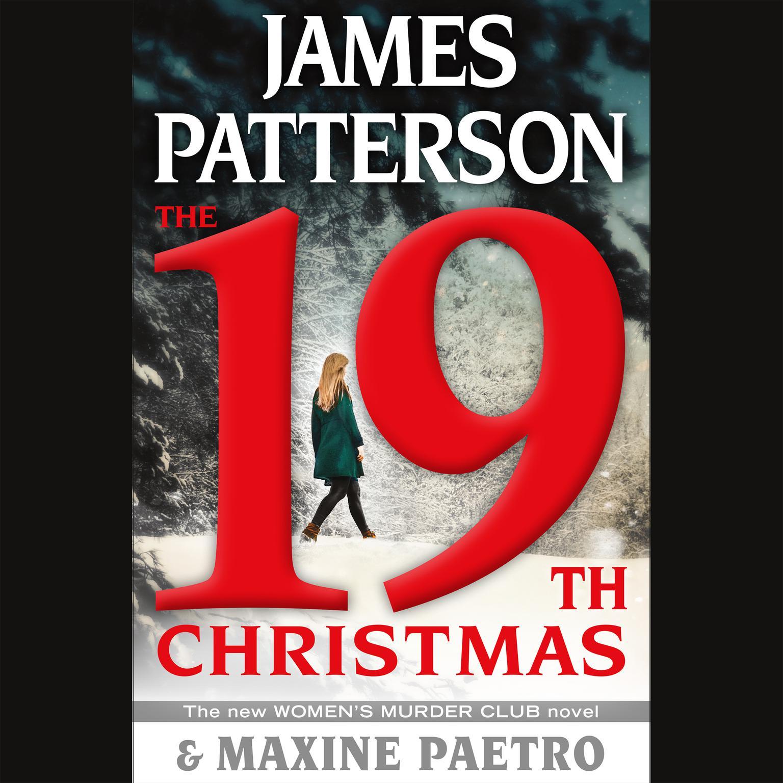 Printable The 19th Christmas Audiobook Cover Art