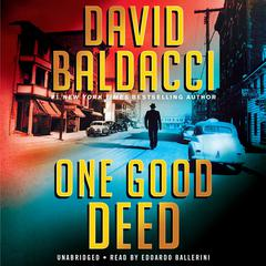 One Good Deed Audiobook, by